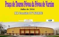 cartaz de anúncio de tourada da TV Norte