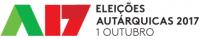 logótipo das eleiçõe autárquicas de 2017