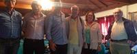 Victor Pinto Miguel e Helena Rocha Pereira e Abel Sousa c/ direção da Santa Casa